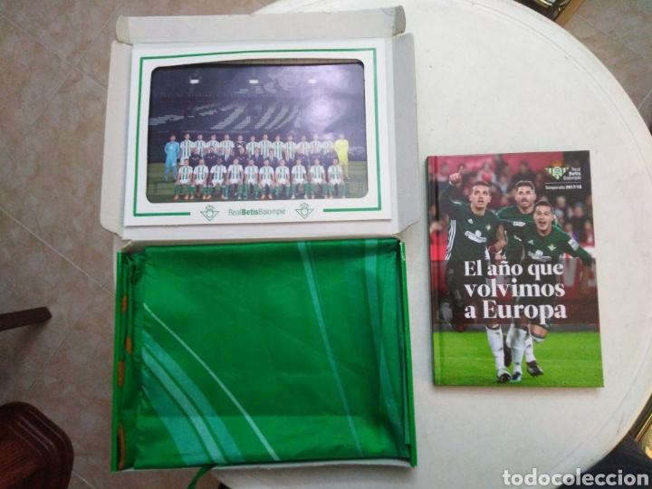 Coleccionismo deportivo: Caja soy betico, Real Betis Balompie ( 90X119 ) - Foto 12 - 223647835