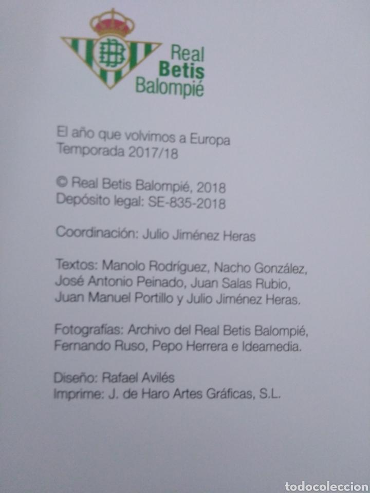 Coleccionismo deportivo: Caja soy betico, Real Betis Balompie ( 90X119 ) - Foto 15 - 223647835
