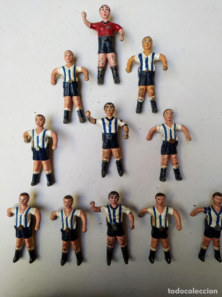 Coleccionismo deportivo: figuras futbolin - Foto 4 - 224016473