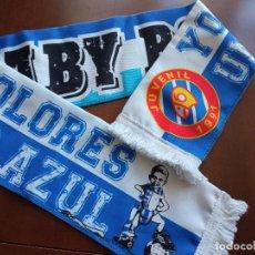 Collezionismo sportivo: RCD ESPANYOL BABY BOOM SUPPPORTERS LA CURVA ULTRAS ULTRA BUFANDA SCARF FOOTBALL FUTBOL. Lote 225889455