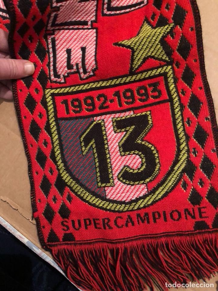 Coleccionismo deportivo: Bufanda del Milán años 90 - Foto 6 - 226904840