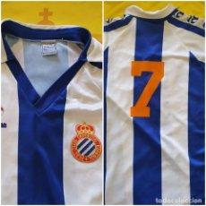 Coleccionismo deportivo: CAMISETA RCD ESPAÑOL MARCA MASSANA. Lote 227989810