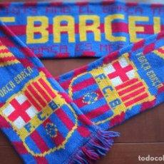 Coleccionismo deportivo: FC BARCELONA SCARF FOOTBALL FUTBOL FUTBOL. Lote 228100225