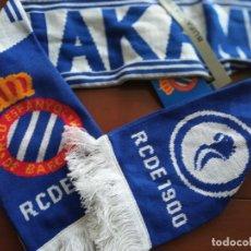 Coleccionismo deportivo: RCD ESPANYOL NAKAMURA JAPAN PLAYER SCARF FOOTBALL FUTBOL FUTBOL. Lote 228100275