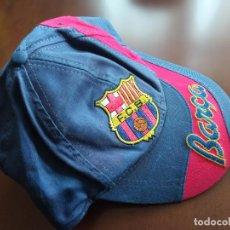 Coleccionismo deportivo: FC BARCELONA KAPPA CAP GORRA FOOTBALL FUTBOL. Lote 228100655