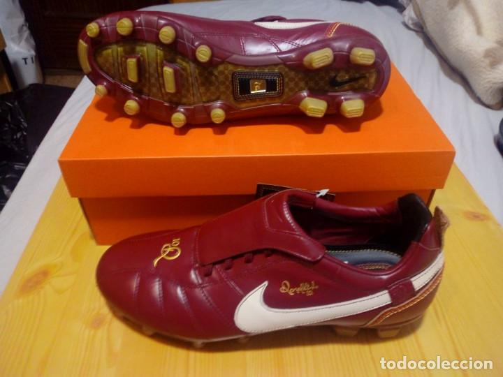 Coleccionismo deportivo: BOTAS DE FUTBOL NIKE RONALDINHO, TALLA 9 USA 8 UK 42,5 NUEVAS A ESTRENAR soccer shoes PVP 170 euros - Foto 3 - 268153034