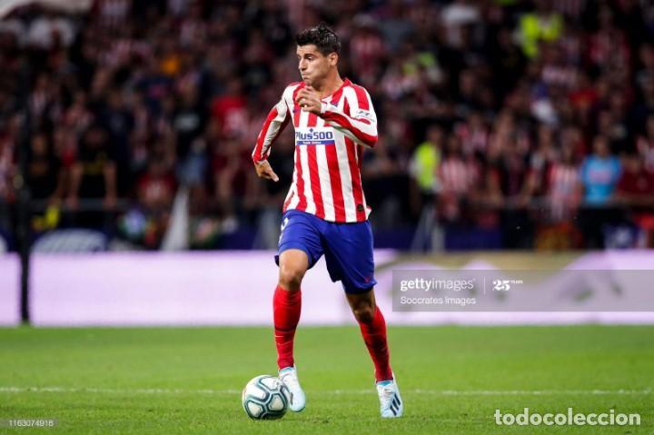 (F-201230)BOTAS DE MORATA AT.MADRID - FIRMADAS - MATCH WORN (Coleccionismo Deportivo - Material Deportivo - Fútbol)