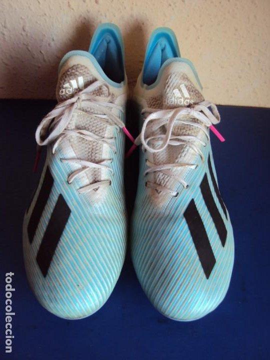 Coleccionismo deportivo: (F-201230)BOTAS DE MORATA AT.MADRID - FIRMADAS - MATCH WORN - Foto 4 - 229842160