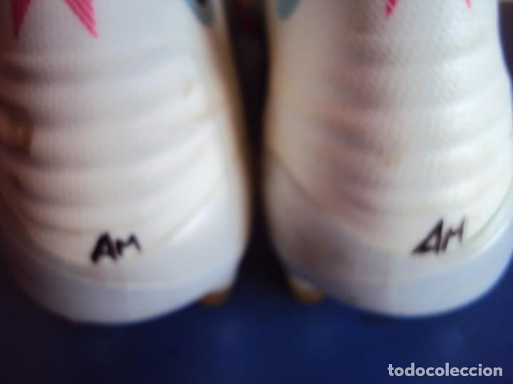 Coleccionismo deportivo: (F-201230)BOTAS DE MORATA AT.MADRID - FIRMADAS - MATCH WORN - Foto 7 - 229842160