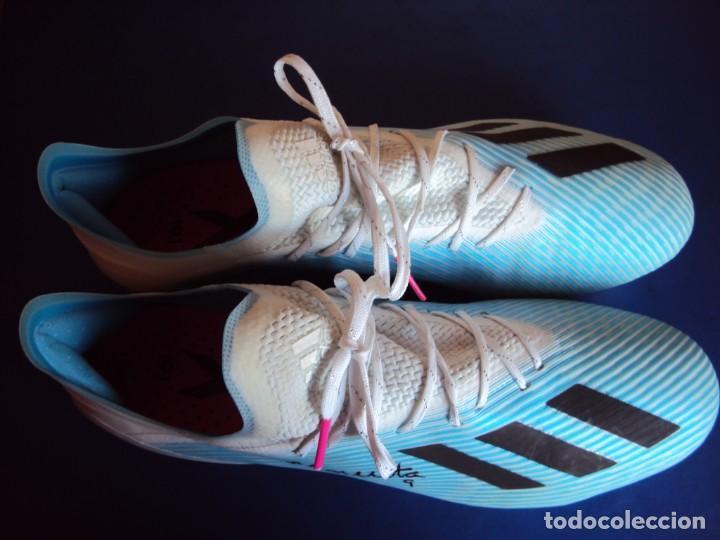 Coleccionismo deportivo: (F-201232)BOTAS DE MORATA AT.MADRID - FIRMADAS - MATCH WORN - Foto 6 - 229842620