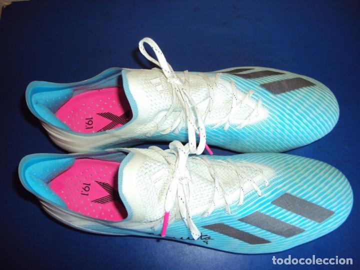 Coleccionismo deportivo: (F-201232)BOTAS DE MORATA AT.MADRID - FIRMADAS - MATCH WORN - Foto 7 - 229842620