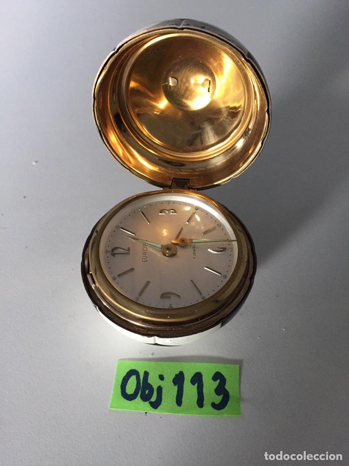 Coleccionismo deportivo: Reloj de mesa balón 1966 - Foto 2 - 230369870