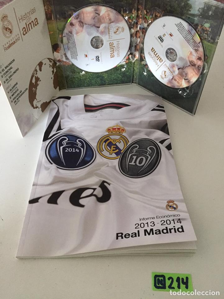 HISTORIAS CON ALMA REAL MADRID (Coleccionismo Deportivo - Material Deportivo - Fútbol)