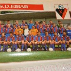 Colecionismo desportivo: RECORTE DE DON BALON EXTRA LIGA 1991-92.FOTO Y LISTA DE JUGADORES SD EIBAR. Lote 230728110