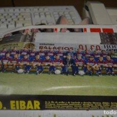 Colecionismo desportivo: RECORTE DE DON BALON EXTRA LIGA 1993-94.FOTO Y LISTA DE JUGADORES SD EIBAR. Lote 230768780