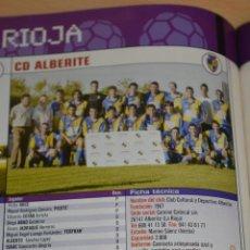 Colecionismo desportivo: RECORTE DE DON BALON EXTRA LIGA 2005-06.FOTO Y LISTA DE CD ALBERITE. Lote 230801875