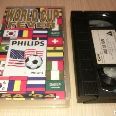 Coleccionismo deportivo: WORLD CUP FEVER - USA 94 VHS. Lote 231759060