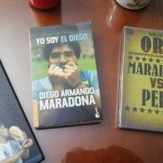 Coleccionismo deportivo: DIEGO MARADONA. COLECCION DE RELIQUIAS HISTÓRICAS. LOTE UNICO.. Lote 232072785