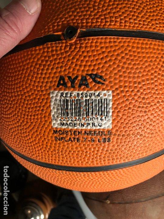 Coleccionismo deportivo: Lote de 5 balones, fútbol y baloncesto - Foto 10 - 232447120