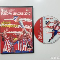 Coleccionismo deportivo: DVD.- ATLETICO DE MADRID - FINAL EUROPA LEAGUE 2010 FULHAM - ATLETI CAMPEON. Lote 233263270