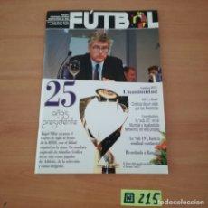 Coleccionismo deportivo: FÚTBOL. Lote 233379780