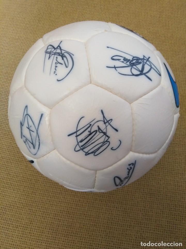 BALÓN FIRMADO UNIÓN DEPORTIVA SALAMANCA (Coleccionismo Deportivo - Material Deportivo - Fútbol)