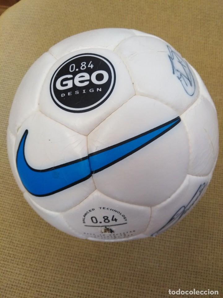 Coleccionismo deportivo: Balón firmado Unión Deportiva Salamanca - Foto 2 - 233842765