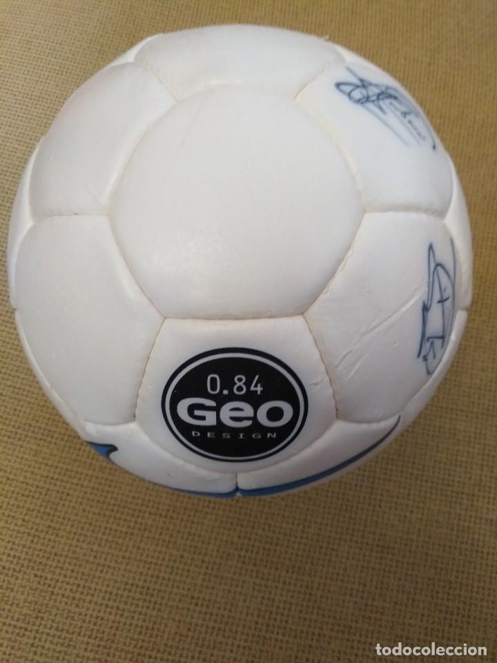 Coleccionismo deportivo: Balón firmado Unión Deportiva Salamanca - Foto 3 - 233842765