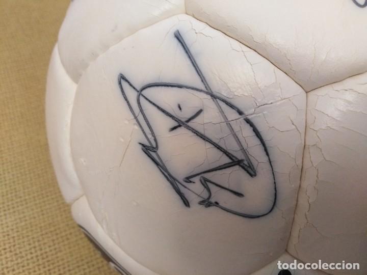 Coleccionismo deportivo: Balón firmado Unión Deportiva Salamanca - Foto 4 - 233842765