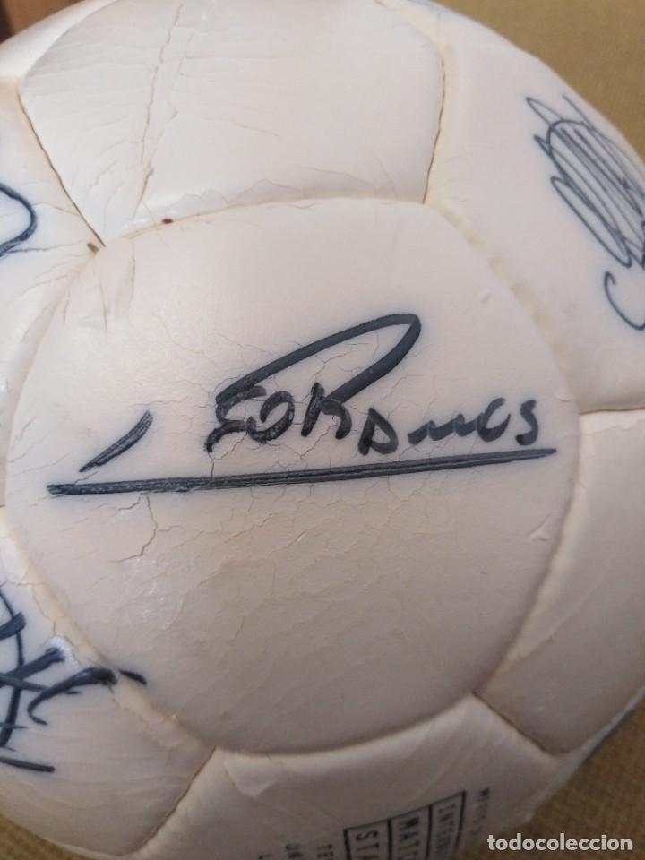 Coleccionismo deportivo: Balón firmado Unión Deportiva Salamanca - Foto 7 - 233842765