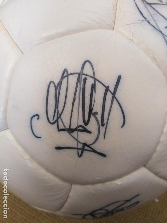 Coleccionismo deportivo: Balón firmado Unión Deportiva Salamanca - Foto 8 - 233842765