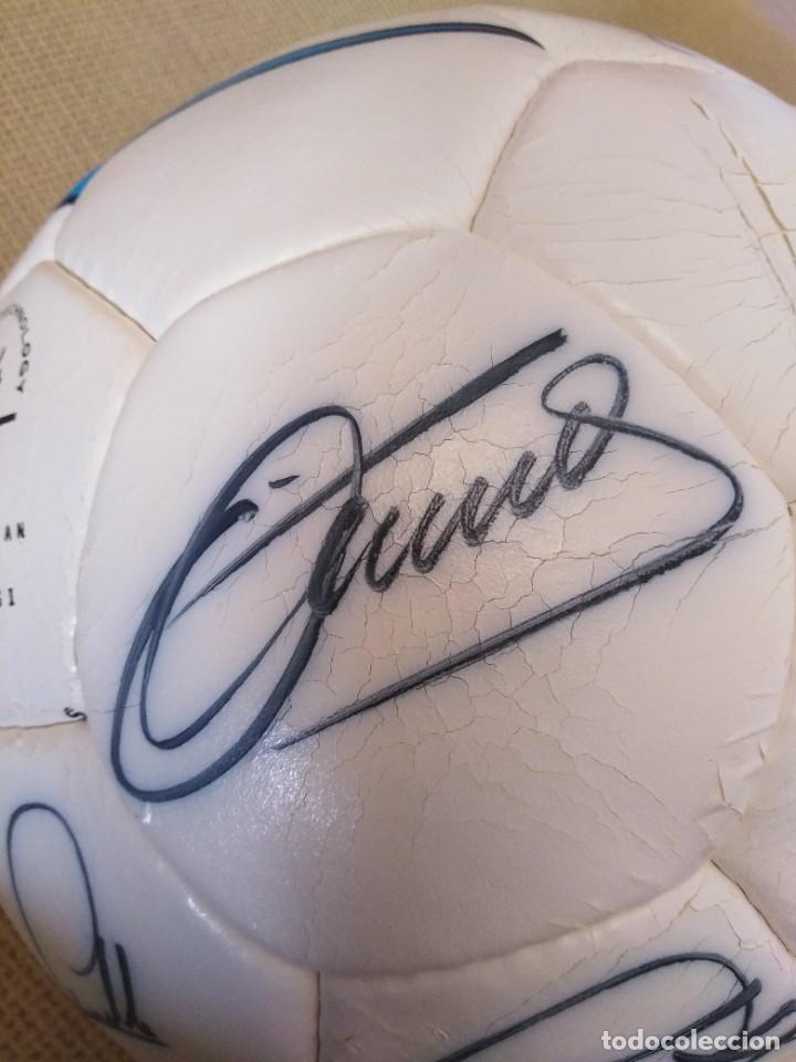 Coleccionismo deportivo: Balón firmado Unión Deportiva Salamanca - Foto 11 - 233842765
