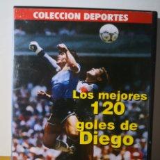 Colecionismo desportivo: MARADONA - LOS 120 MEJORES GOLES DE DIEGO - DVD -. Lote 234522470