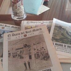 Coleccionismo deportivo: 100 POSTERS REAL MADRID 1902 A 2002. DIARIO OFICIAL. Lote 235202180