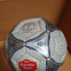 Coleccionismo deportivo: BALON TEMPORADA 2000-2001 LIGA DE FÚTBOL - ESTRELLA DAMM - CERVEZA OFICIAL LFP. Lote 235607000