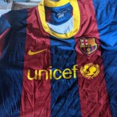 Coleccionismo deportivo: CAMISETA FUTBOL CLUB BARCELONA ORIGINAL DE NIKE - COMO NUEVA - TALLA XXL - LOGO UNICEF - 2020-11. Lote 236163350