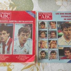 Coleccionismo deportivo: 2 REVISTAS ABC 1986/1987 BUEN ESTADO ( BUTRAGUEÑO). Lote 236696065