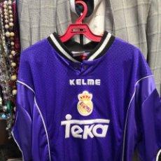 Coleccionismo deportivo: RARA CAMISETA FUTBOL ORIGINAL KELME REAL MADRID TEKA TALLA XL. Lote 237281265