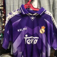 Coleccionismo deportivo: CAMISA KELME REAL MADRID, PUBLICIDAD TEKA, TALLA L. Lote 237282535