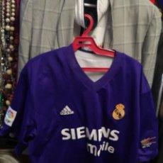 Coleccionismo deportivo: CAMISA REAL MADRID, PUBLICIDAD SIEMENS TALLA XXL. 2002. Lote 237287010