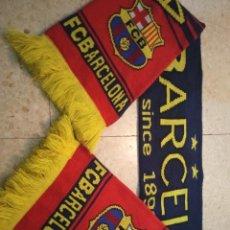 Coleccionismo deportivo: FC BARCELONA BUFANDA FUTBOL SCARF FOOTBALL. Lote 237371625