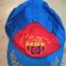 Coleccionismo deportivo: FC BARCELONA GORRA VINTAGE CAP BUFANDA FUTBOL SCARF FOOTBALL. Lote 237371955