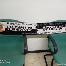 Coleccionismo deportivo: BUFANDA VALENCIA CF. Lote 238043495