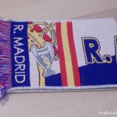 Coleccionismo deportivo: BUFANDA - FOULARD - F.C. - FUTBOL CLUB - REAL MADRID - GALATASARAY - 27-11-2013 - 19 X 1,35. Lote 238698535