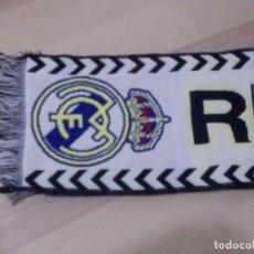 Coleccionismo deportivo: BUFANDA - FOULARD - F.C. - FUTBOL CLUB - REAL MADRID - 19 X 1,40 CM. Lote 238699285