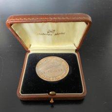 Coleccionismo deportivo: MEDALLA MONEDA DEL MUNDIAL DE FÚTBOL ESPAÑA 82 1982. SEDES DE LA COPA DEL MUNDO.. Lote 238875120