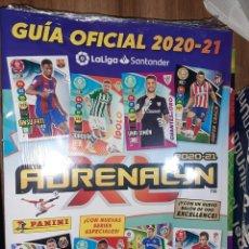 Coleccionismo deportivo: GUÍA FICIAL 2020/21, ADRENALYN XL, EDITORIAL PANINI, EN PERFECTO ESTADO. Lote 241745215
