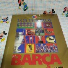 Coleccionismo deportivo: LOS TESOROS DEL BARÇA. Lote 243485990