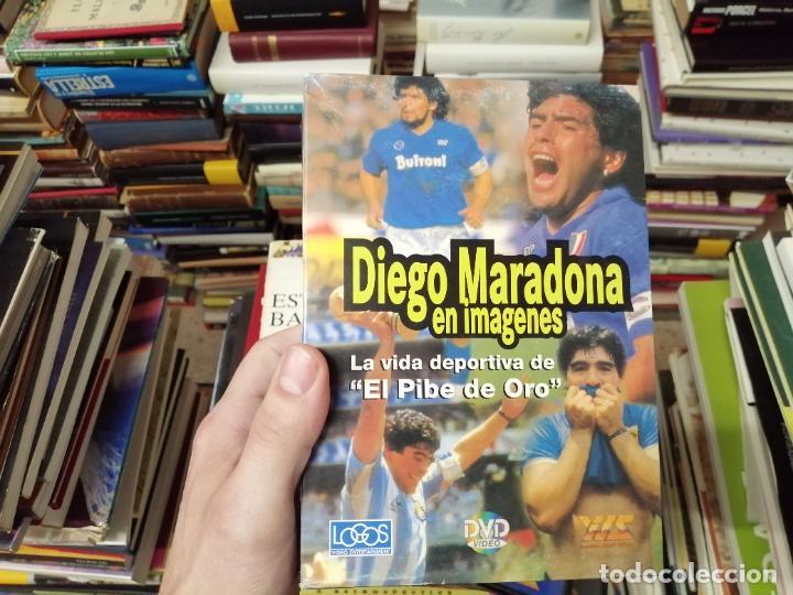 Coleccionismo deportivo: DIEGO ARMANDO MARADONA EN IMÁGENES . 4 DVDS . NÁPOLES, BARCELONA , ARGENTINA, BOCA JUNIORS. FÚTBOL - Foto 2 - 244704535