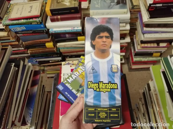 Coleccionismo deportivo: DIEGO ARMANDO MARADONA EN IMÁGENES . 4 DVDS . NÁPOLES, BARCELONA , ARGENTINA, BOCA JUNIORS. FÚTBOL - Foto 3 - 244704535